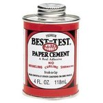 BEST TEST PAPER CEMENT 8 OZ.