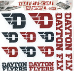 CDI® Dayton Flyers Assorted Removable Decal Sheet