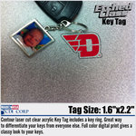 CDI® D-Wing Etched Key Tag