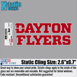 CDI® Dayton Flyers Stacked Logo Decal