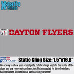 CDI® Dayton Flyers Athletic Long Decal