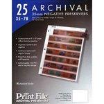 PRINT FILE ARCHIVAL PRESERVERS 25 35-7B