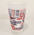 16 OZ. FROSTED MIXING GLASS WITH UNIVERSITY OF DAYTON CAMPUS WRAP DESIGN FULL COLOR