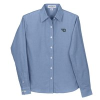 Vantage® Womens Dayton Repel and Release Oxford Shirt