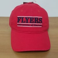 CLASSIC RELAXED FRONT BAR DESIGN FLYERS UNIVERSITY OF DAYTON BACK FLYING D LOGO