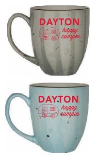 "15OZ ROTANNA MUG DAYTON OVER RV GRAPHIC ""HAPPY CAMPER"""