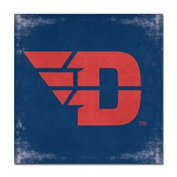 14 X 14 WRAPPED CANVAS FLYING D LOGO