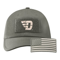 NIKE® H86 TACTICAL CAP REMOVABLE VELCRO AMERICAN FLAG GRAPHIC OVER TOP OF FLYING D LOGO