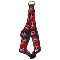 ALL STAR DOGS HARNESS DAYTON LOGO FLYING D LOGO REPEATING