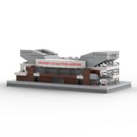 BRIXILATED UNIVERSITY OF DAYTON ARENA MICRO-BUILD SET BRICK BLOCK