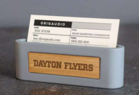 ORIGUADIO STICK AND STONE BUSINESS CARD HOLDER
