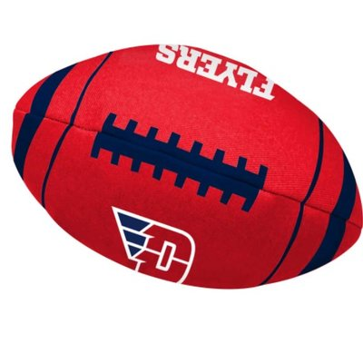 ALL STAR DOGS FOOTBALL TOY FLYING D LOGO