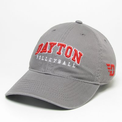 RELAXED TWILL SPORTS HAT DAYTON ARCHED OVER VOLLEYBALL - EO026561-32