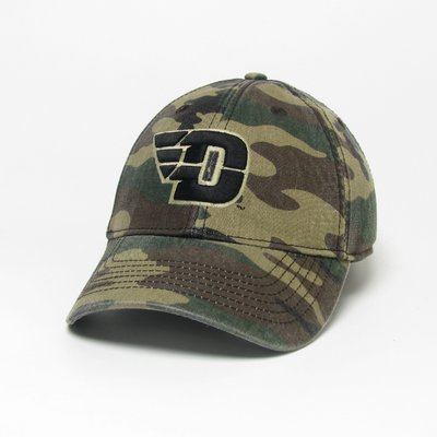 EZA RELAXED TWILL HAT ARMY CAMO HAT FLYING D LOGO