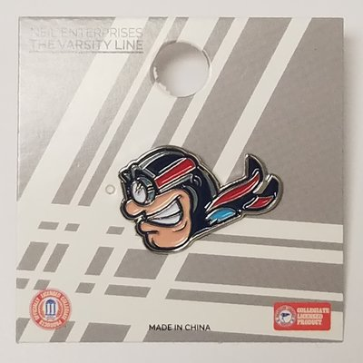 CUSTOM SHAPE LAPEL PIN RUDY FLYER