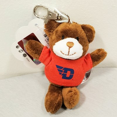 PLUSH KEYCHAIN ANIMAL WITH SS TEE FLYING D LOGO