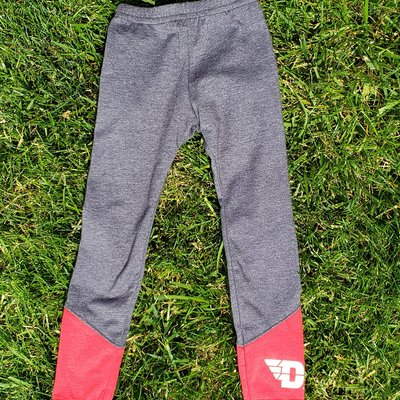 YOUTH LEGGINGS WITH CONTRAST PANELS FLYING D LOGO