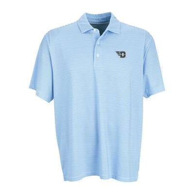 VanSport® Dayton Wordmark Tonal Micro Stripe Polo Shirt