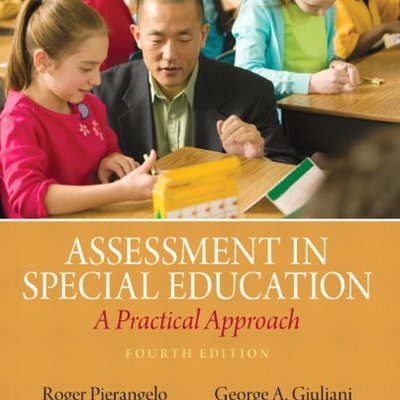 ASSESSMENT IN SPECIAL EDUCATION (P)