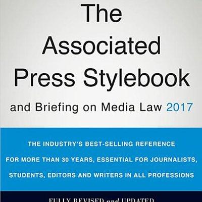 ASSOC.PR.STYLEBOOK+BRIEFING ON...2017