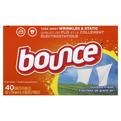 BOUNCE DRYER SHEETS OUTDOOR FRESH 40 CT.