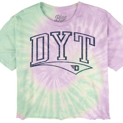 CROPPED TIE DYE SS TEE DYT OUTLINE