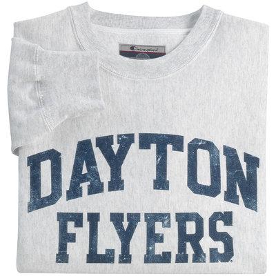 Champion® Dayton Flyers Reverse Weave Crew Neck Sweatshirt