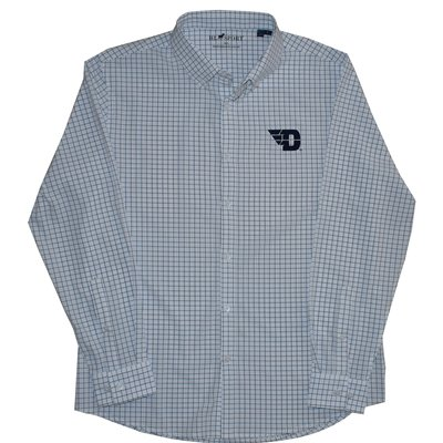 PERFORMANCE 4 WAY STRETCH WOVEN SHIRT LC- FLYING D LOGO
