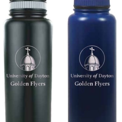 32 OZ GROWLER STAINLESS STEE UNIVERSITY OF DAYTON CHAPEL GOLDEN FLYERS