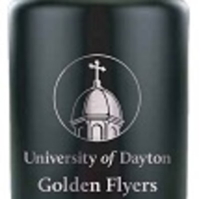 64 OZ GROWLER STAINLESS STEE UNIVERSITY OF DAYTON CHAPEL GOLDEN FLYERS