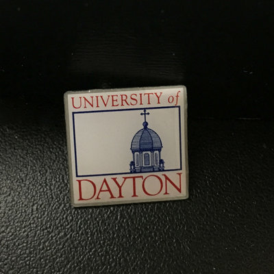Neil® LAPEL PIN UNIVERSITY OF DAYTON CHAPEL BOX LOGO