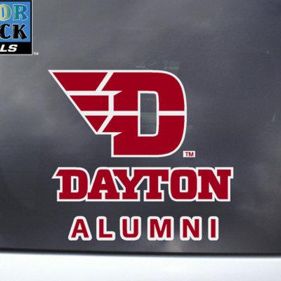 CDI® Dayton Alumni ColorShock Decal