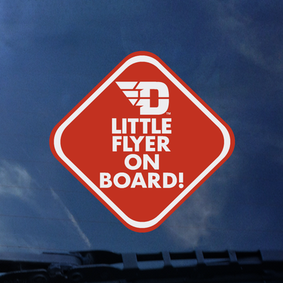 CDI® COLOR SHOCK DECAL FLYING D LOGO LITTLE FLYER ON BOARD!