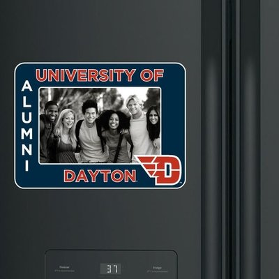 CDI® FRIDGE FRAME UNIVERSITY OF DAYTON NEXT TO FLYING D LOGO, ALUMNI