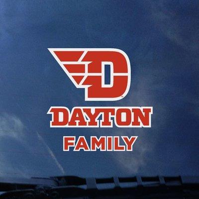 COLOR SHOCK DECAL FLYING D DAYTON LOGO FAMILY