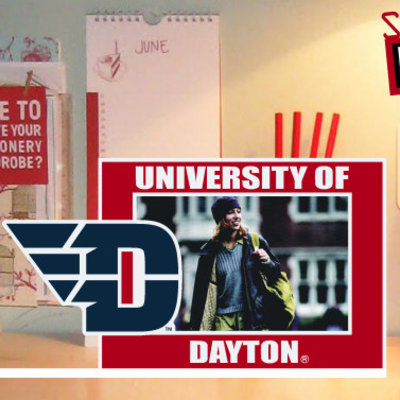 """CDI® University of Dayton Stand Up 4"""" x 6"""" Picture Frame"""