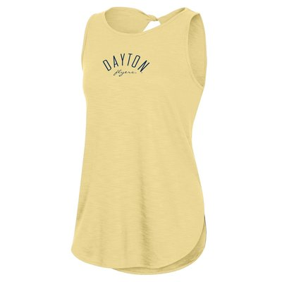 LADIES WHENEVER TWISTED TANK DAYTON ARCHED OVER FLYERS SCRIPT