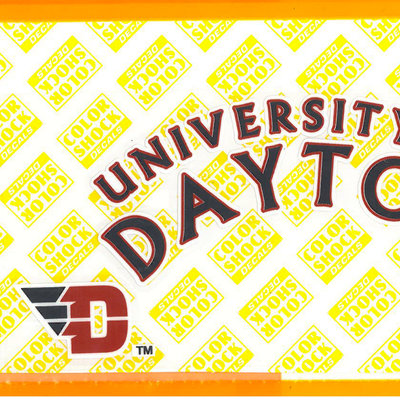 CDI® University of Dayton Arched ColorShock Decal