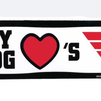 All Star Dogs® My Dog Loves Dayton Magnet