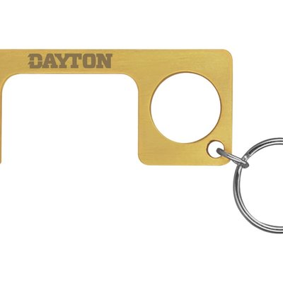 BRASS PPE TOUCH TOOL KEYCHAIN