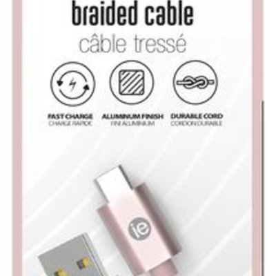 10FT USB-C BRAIDED CABLE