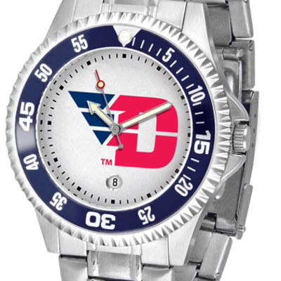 Suntime® Dayton Competitor Metal Band Men's Watch